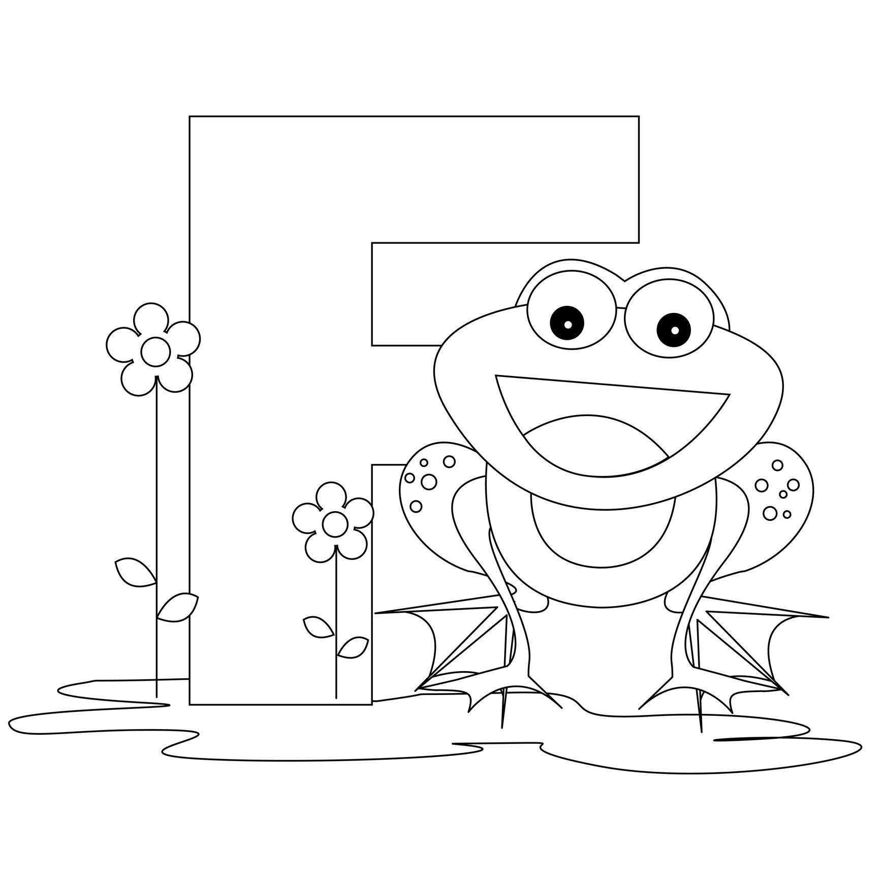 Free Printable Alphabet Coloring Pages For Kids - Best Coloring - Free Printable Alphabet Coloring Pages