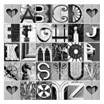 Free Printable Alphabet Photography Letters – Printall   Free Printable Alphabet Photography Letters