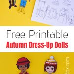 Free Printable Autumn Dress Up Paper Doll | Adventure In A Box   Free Printable Autumn Paper