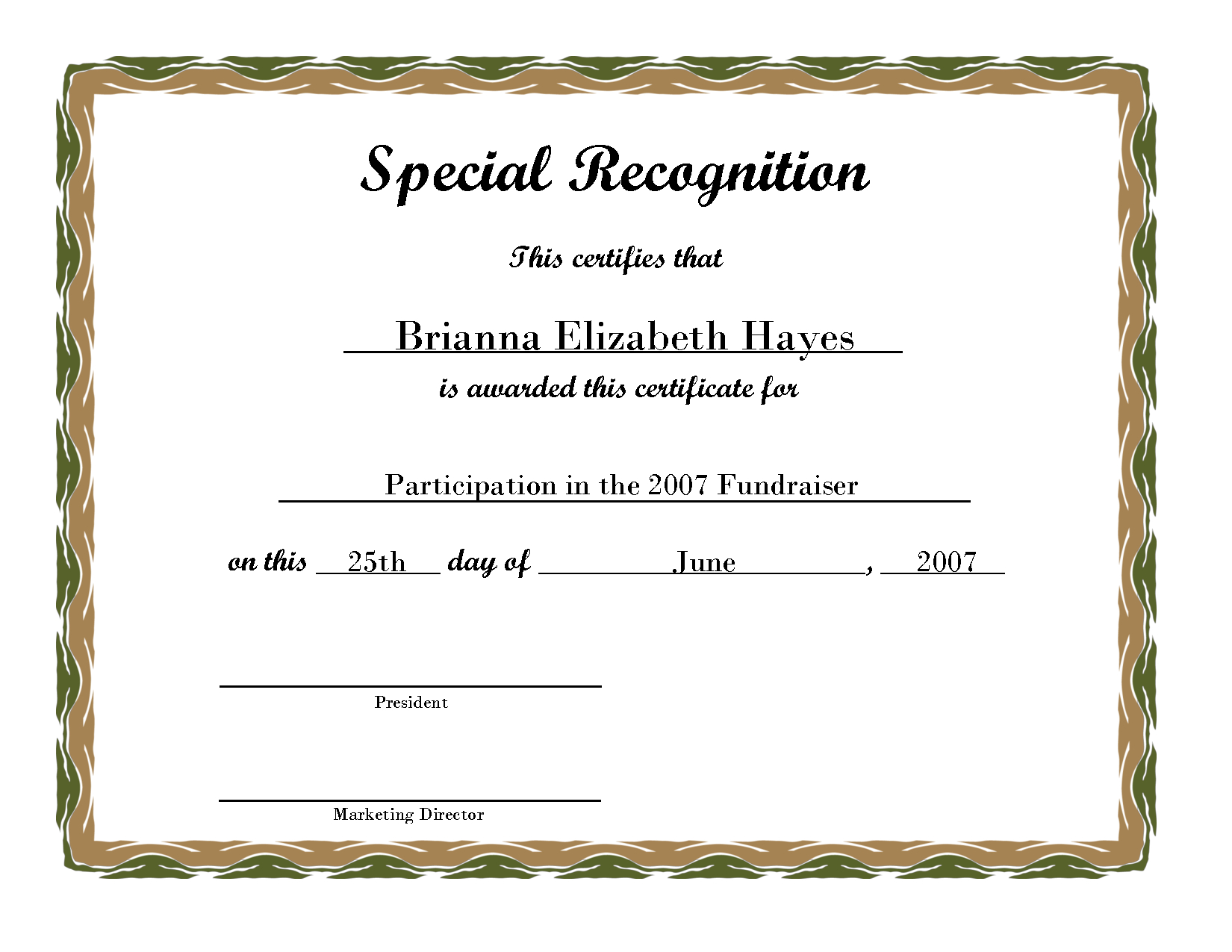 Free Printable Award Certificate Borders | Free Printable - Free Printable Honor Roll Certificates Kids