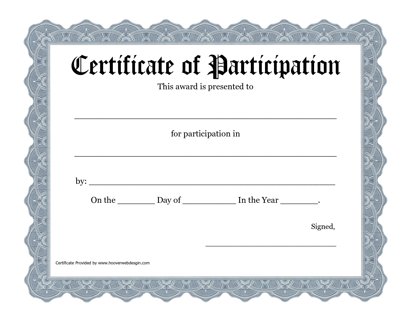 Free Printable Award Certificate Template - Bing Images | 2016 Art - Commitment Certificate Free Printable