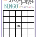 Free Printable Baby Shower Games For Large Groups | Crafts | Baby   Baby Bingo Game Free Printable