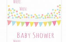 Free Printable Baby Sprinkle Invitations – Baby Shower Ideas – Free Printable Baby Sprinkle Invitations