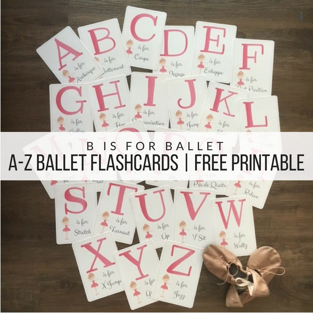Free Printable! Ballet Flash Cards! | Dance Teacher | Ballet, Ballet - Free Printable Dance Recital Cards