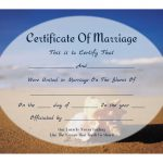 Free Printable   Beachy Keepsake Marriage Certificate | All Things   Free Printable Wedding Certificates