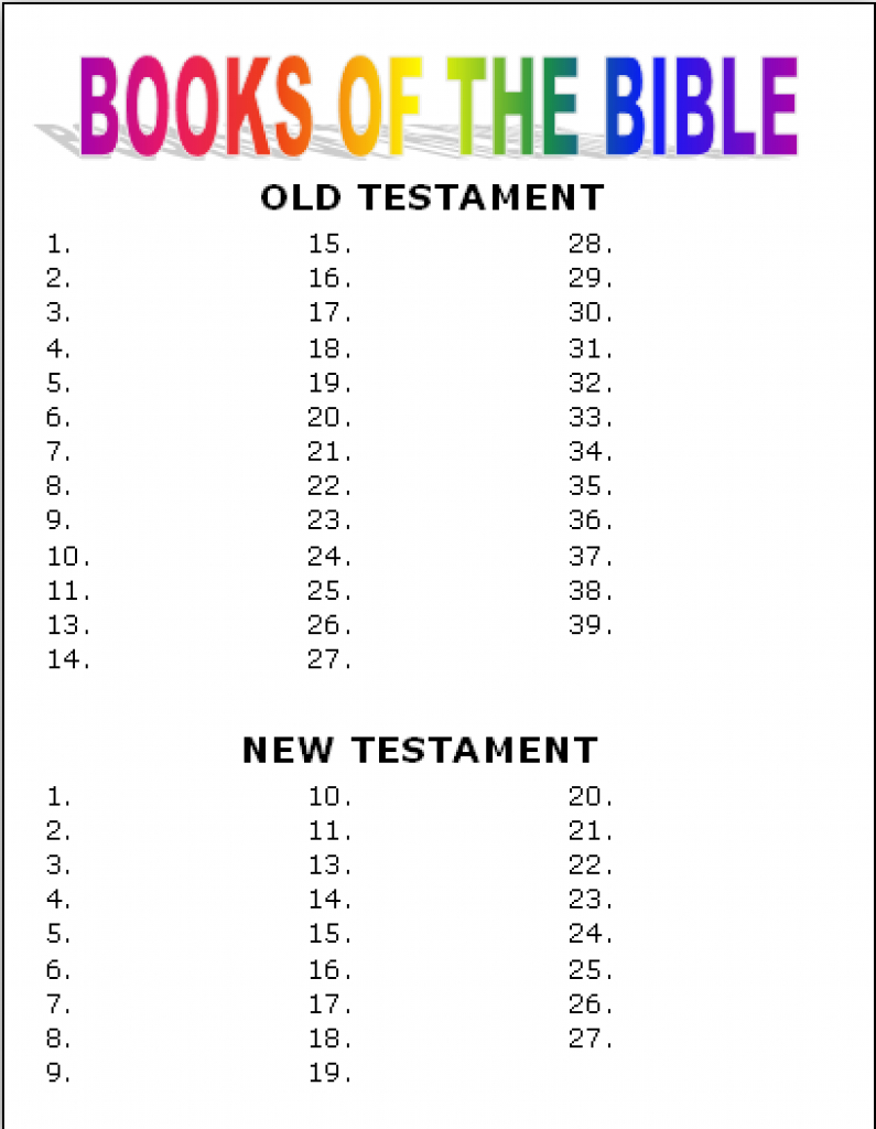 Free Printable Bible Games For Youth (87+ Images In Collection) Page 1 - Free Printable Bible Games For Youth