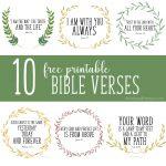 Free Printable Bible Verses   Christinas Adventures   Free Printable Scripture Verses