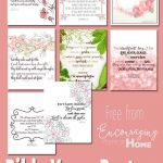 Free Printable Bible Verses To Encourage And Inspire Homeschool Moms – Free Printable Inspirational Bible Verses