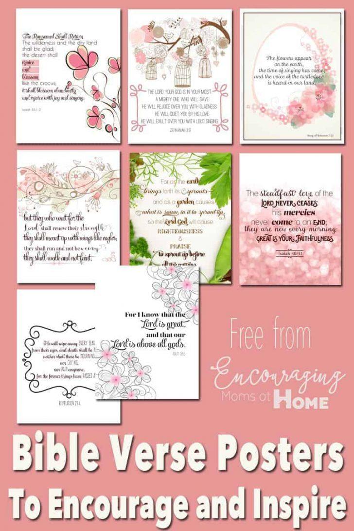 Free Printable Inspirational Bible Verses
