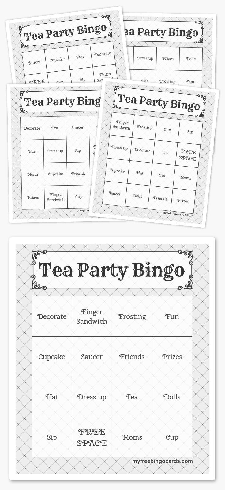 Free Printable Bingo Cards In 2019 | Printables | Harry Potter Games - Free Printable Bingo Cards