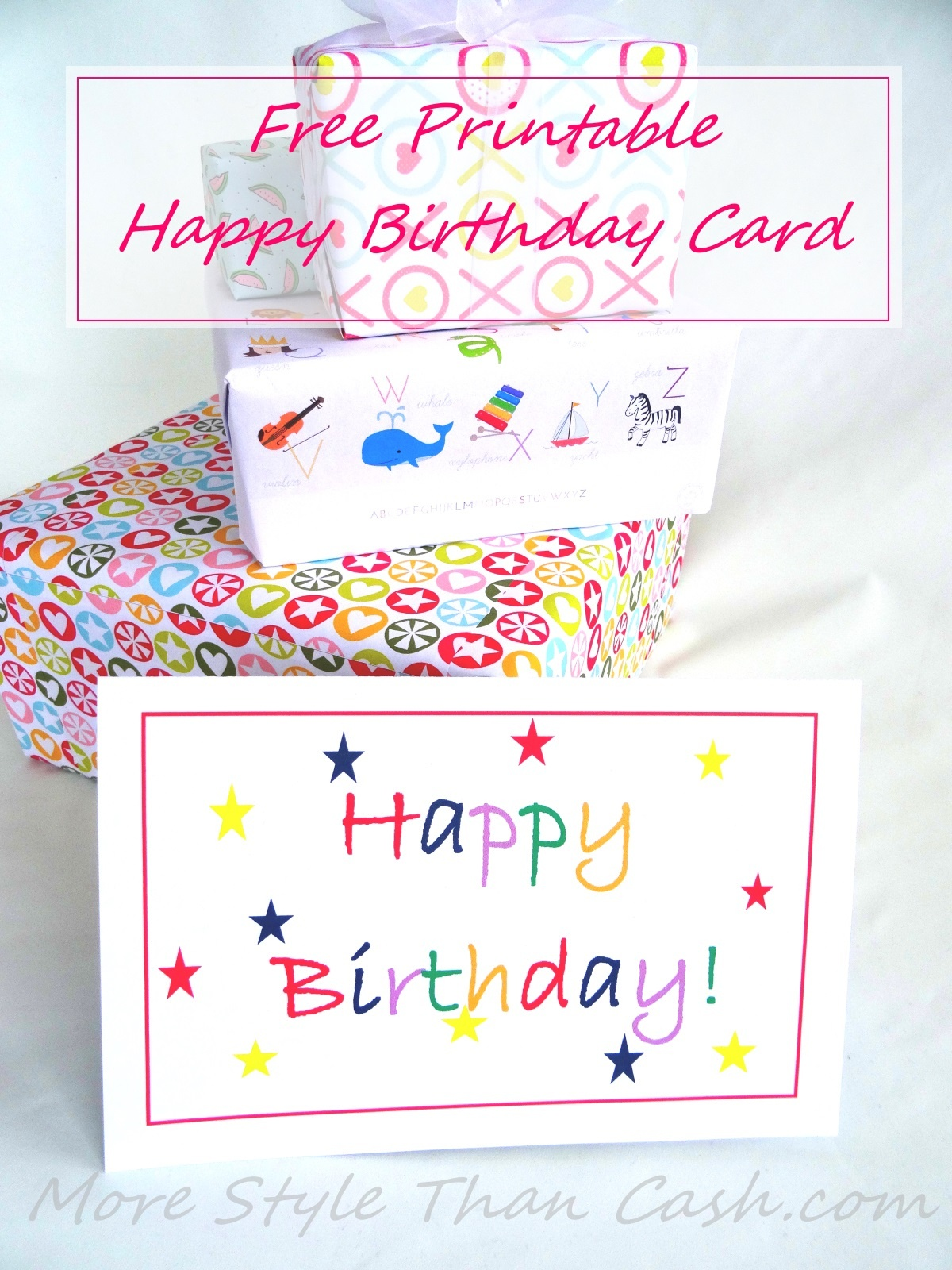 Free Printable Birthday Card - Happy Birthday Free Cards Printable