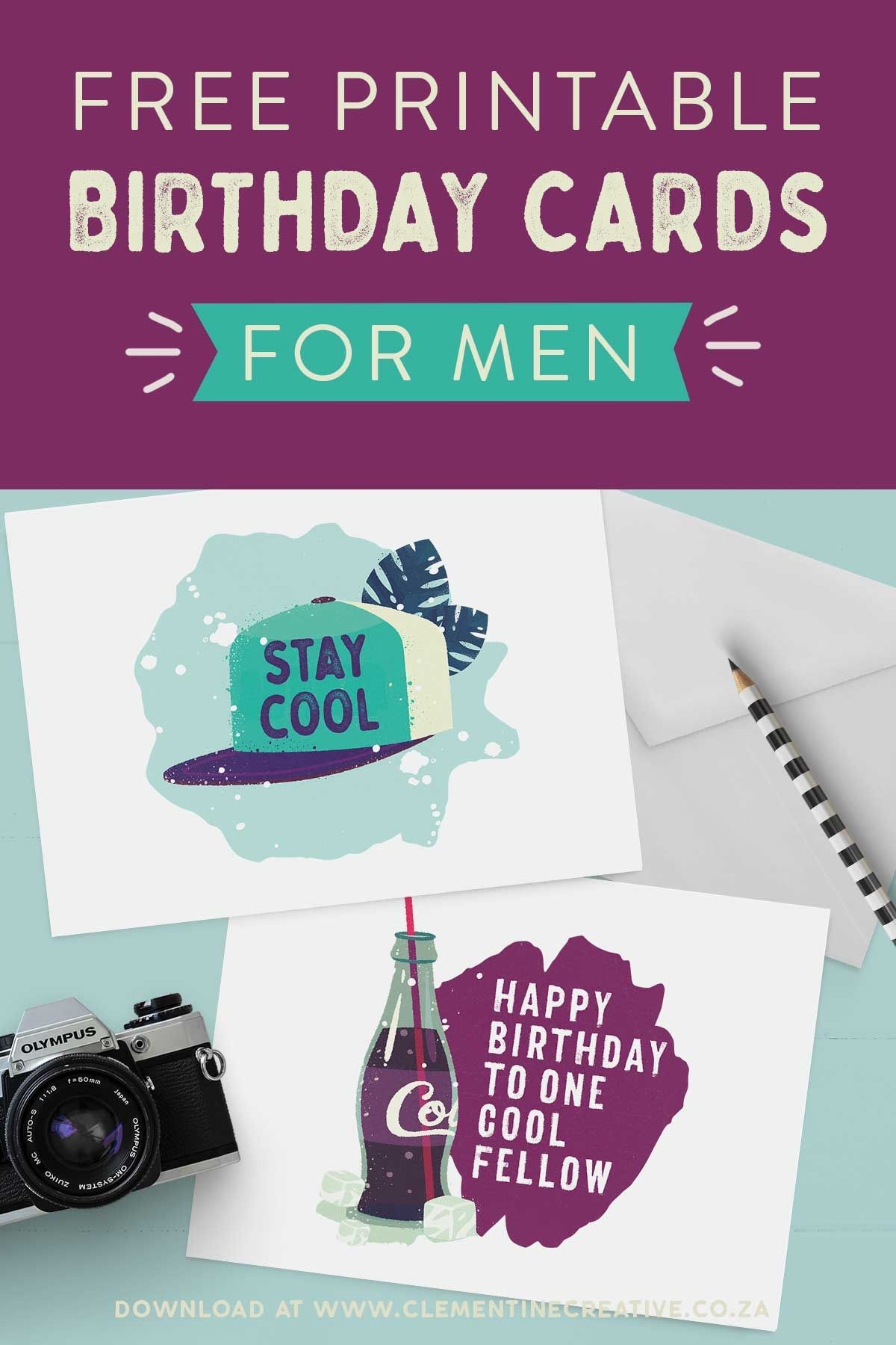 Free Printable Birthday Cards For Him | Printables | The Best - Free Printable Birthday Cards For Husband