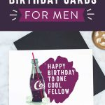 Free Printable Birthday Cards For Him | Stay Cool   Free Printable Personalized Birthday Cards