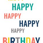 Free Printable Birthday Cards   Paper Trail Design   Happy Birthday Free Cards Printable