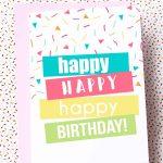 Free Printable Birthday Cards | Skip To My Lou   Happy Birthday Free Cards Printable