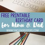 Free Printable Birthday Cards To Color | Card Ideas | Free Printable   Free Printable Birthday Cards For Mom