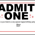 Free Printable Birthday Party Invitations   Kansas Magician   Free Printable 18Th Birthday Invitations