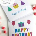 Free Printable Blank Birthday Cards | Catch My Party   Happy Birthday Free Cards Printable