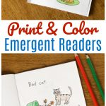 Free Printable Books For Beginning Readers   Level 1 (Easy)   Frugal   Free Printable Books