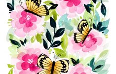 Free-Printable-Butterfly-Garden-Card-1 – Tinselbox – Free Printable Butterfly Pictures