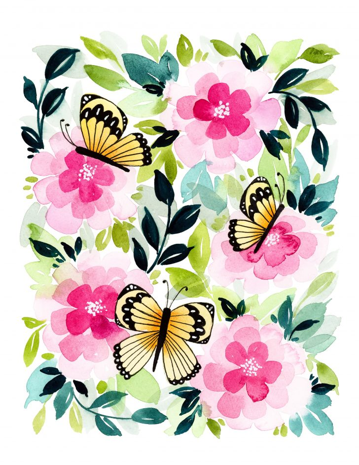 Free Printable Butterfly Pictures