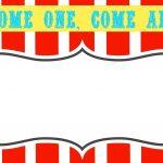 Free Printable Carnival Themed Invitations | Paper Crafting   Free Printable Carnival Decorations