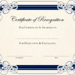 Free Printable Certificate Templates For Teachers   Besttemplate123   Free Printable Blank Certificate Templates