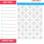 Free Printable Chore Chart   Frugal Fanatic   Free Printable Chore Charts