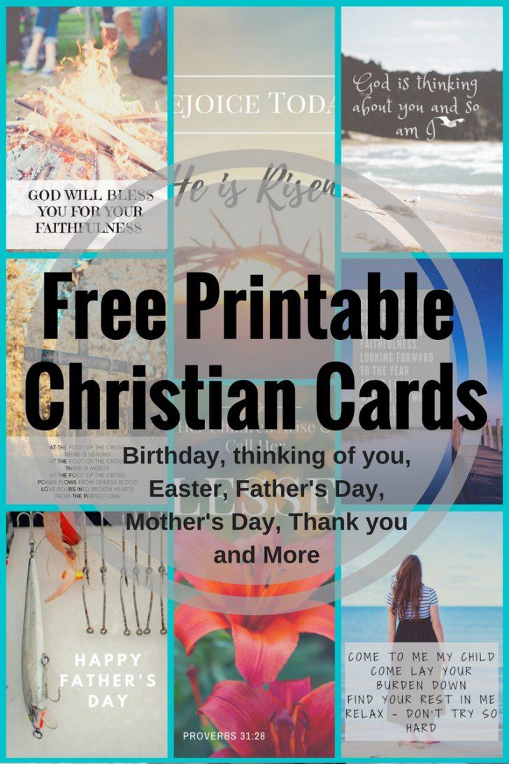 Free Printable Christian Christmas Greeting Cards