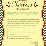 Free Printable Christmas Carol Quiz   American Greetings   Kwanzaa Trivia Free Printable