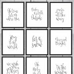 Free Printable Christmas Signs | ✨ X Mas ✨   Kerst Deco, Kerst   Free Printable Christmas Pictures