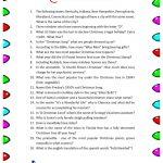 Free Printable Christmas Trivia Questions | Trivia | Christmas   Free Printable Christmas Trivia Quiz