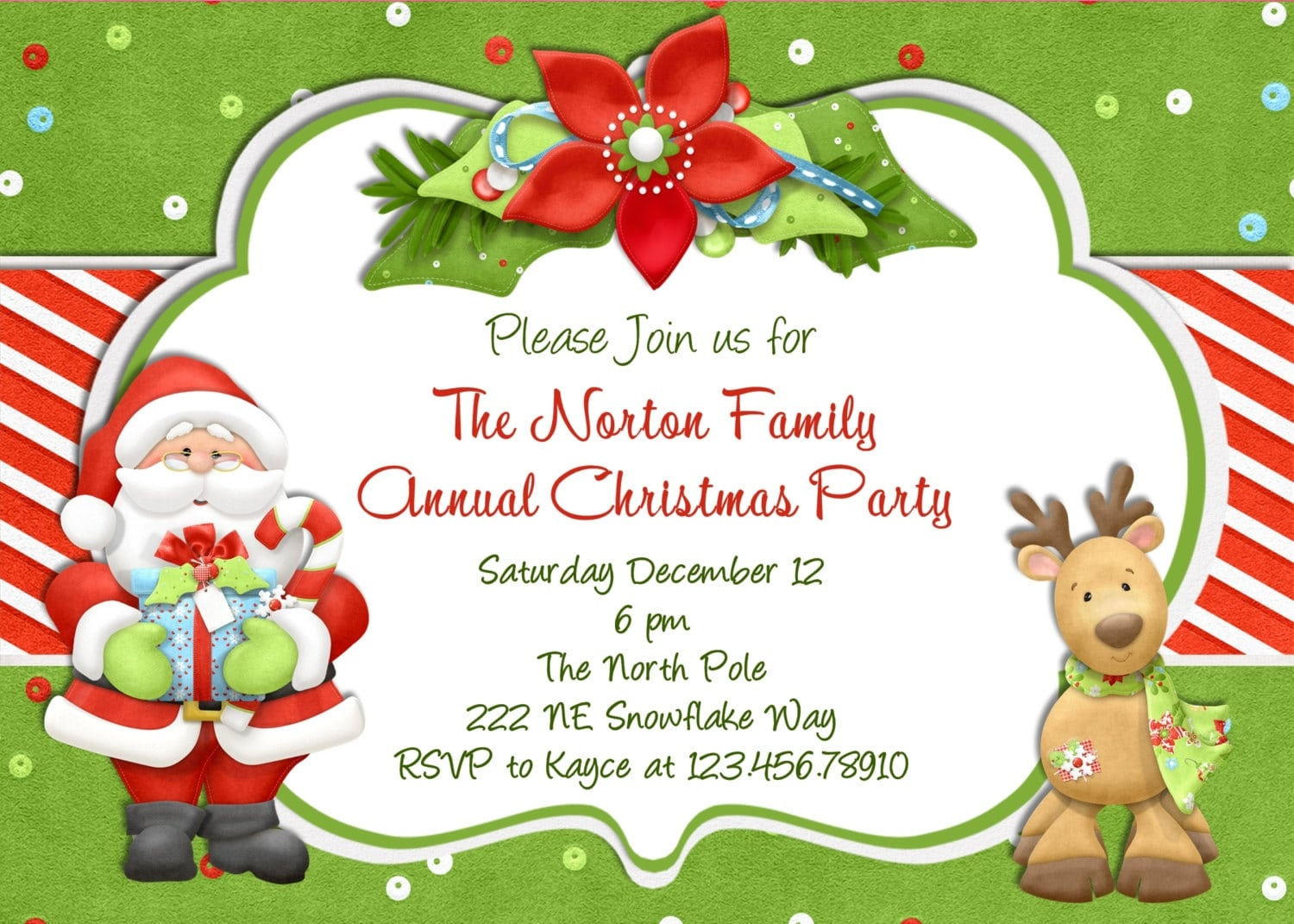 Free Printable Church Christmas Invitations Template - Free Printable Religious Christmas Invitations