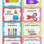 Free Printable Classroom Labels For Preschoolers Free Printable   Free Printable Classroom Labels For Preschoolers