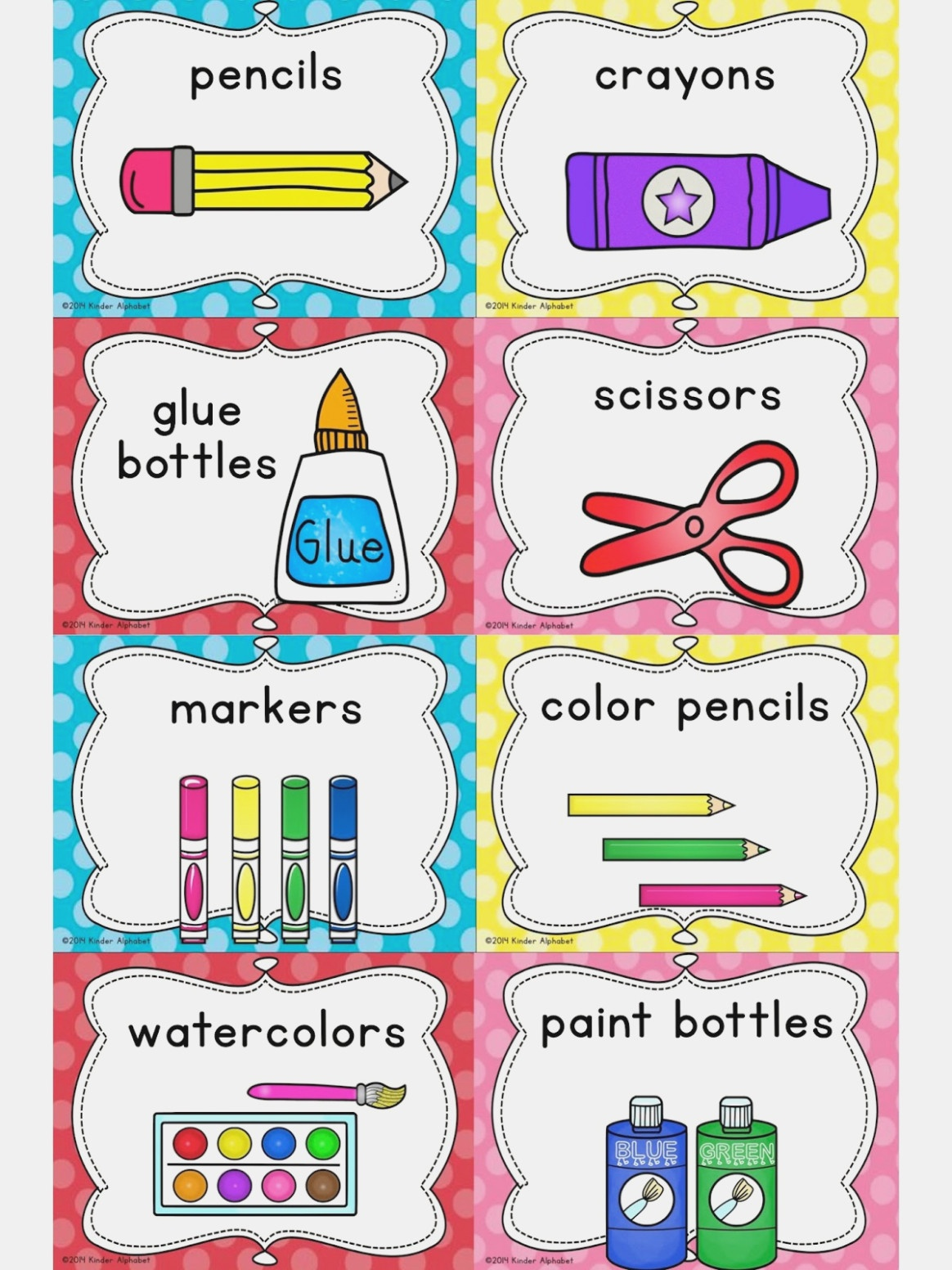 Free Printable Classroom Labels For Preschoolers Free Printable - Free Printable Classroom Labels For Preschoolers