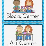 Free Printable Classroom Signs Center Block – Best Home Interior   Free Printable Classroom Labels For Preschoolers