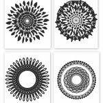 Free Printable Collection Of Modern Black And White Prints | Free   Free Printable Wall Art Black And White