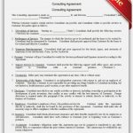 Free Printable Consulting Agreement | Sample Printable Legal Forms   Free Legal Forms Online Printable