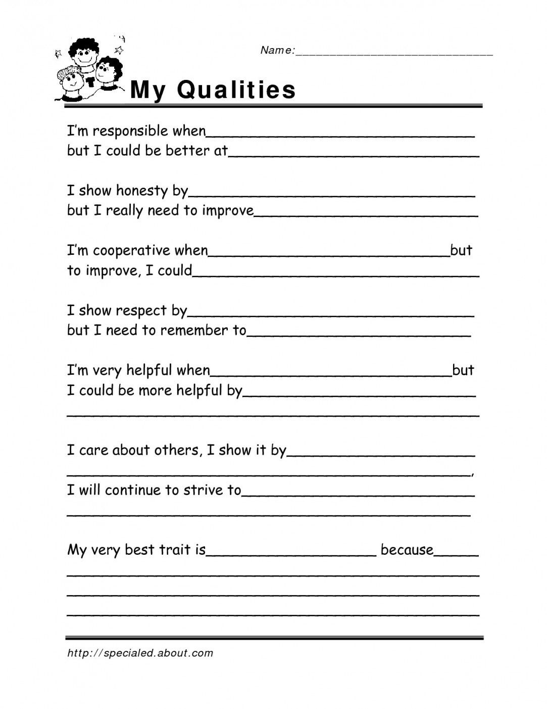 Free Printable Coping Skills Worksheets | Lostranquillos - Free - Free Printable Coping Skills Worksheets