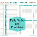 Free Printable Daily To Do List Template – Fieldstation.co Within   Free Printable Kids To Do List