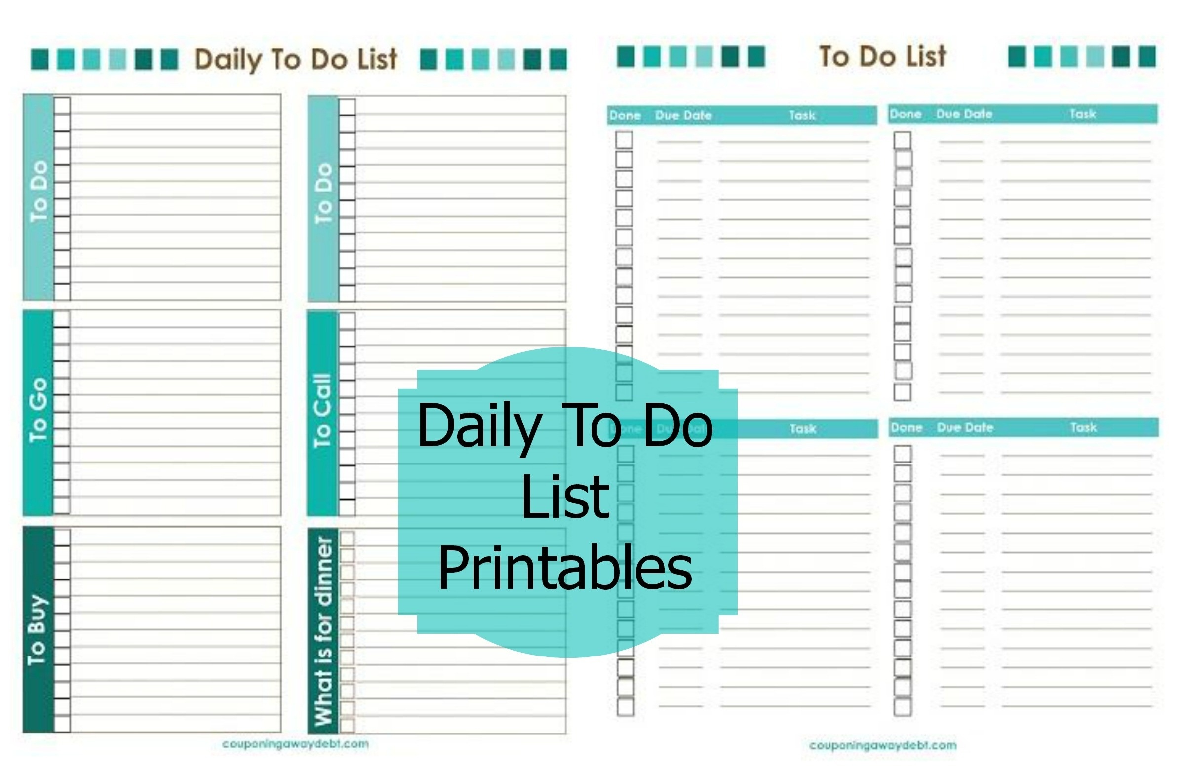Free Printable Daily To Do List Template – Fieldstation.co Within - Free Printable Kids To Do List