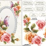 Free Printable Decoupage Card Templates – Google Search | 3D – Free Printable Decoupage Flowers