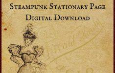 Free Printable Digital Download Stationary Page – Free Printable Stationery Paper