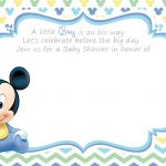 Free Printable Disney Baby Shower Invitations | Baby Shower | Free   Free Printable Baby Shower Invitations Templates For Boys