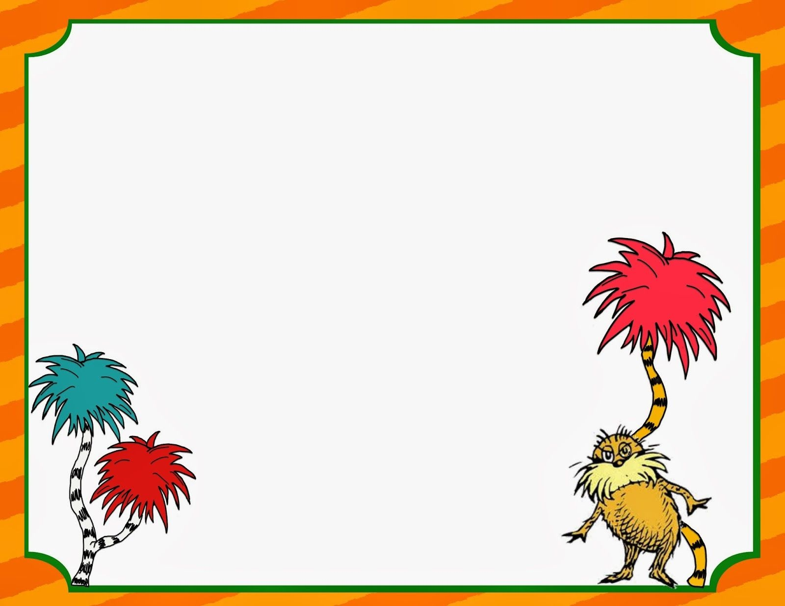 Free} Printable Dr Seuss Writing Pages For Primary Grades | Baby - Dr Seuss Free Printable Templates