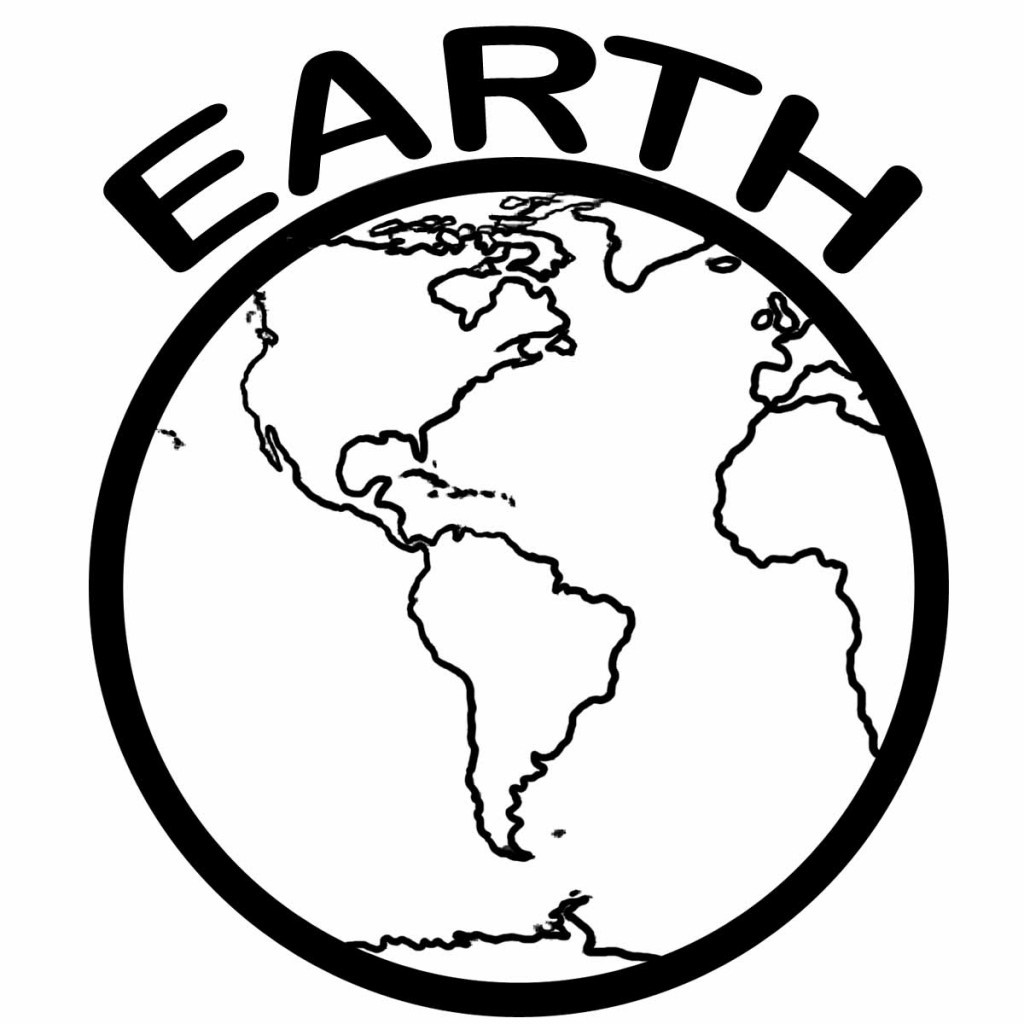 Free Printable Earth Coloring Pages For Kids - Earth Coloring Pages Free Printable