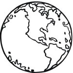 Free Printable Earth Coloring Pages For Kids | Stuff | Earth   Earth Coloring Pages Free Printable