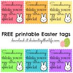 Free Printable Easter Basket Name Tags – Happy Easter & Thanksgiving   Free Printable Easter Basket Name Tags