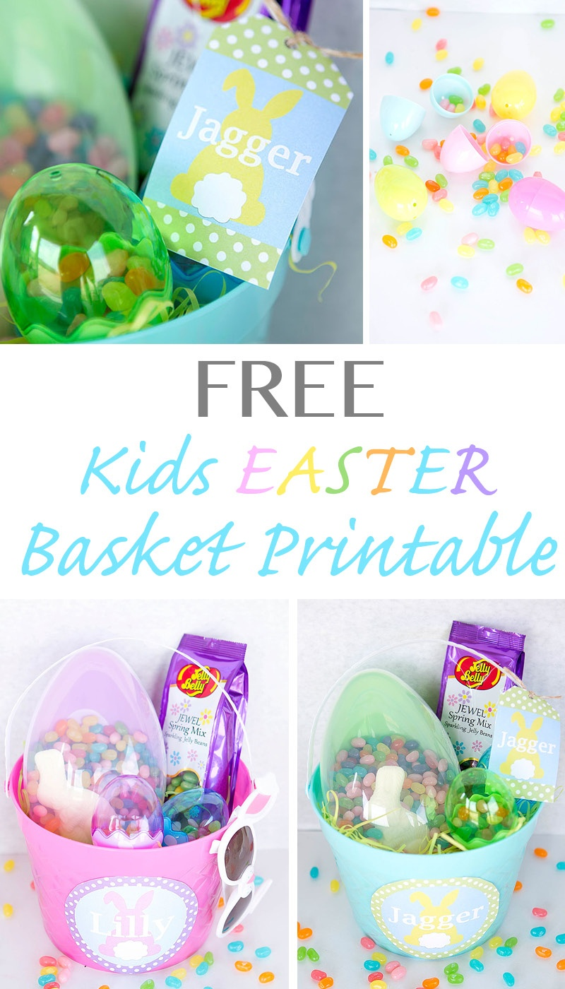 Free Printable Easter Basket Name Tags – Hd Easter Images - Free Printable Easter Basket Name Tags