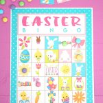 Free Printable Easter Bingo Game Cards   Happiness Is Homemade   Free Printable Bingo